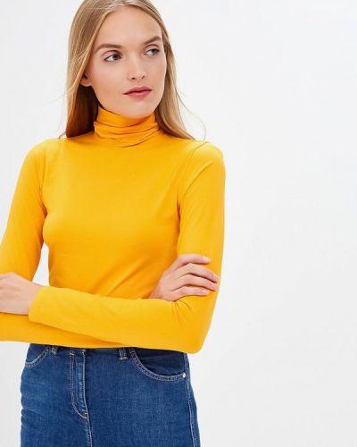 Оранжевая водолазка 2018 Calvin Klein