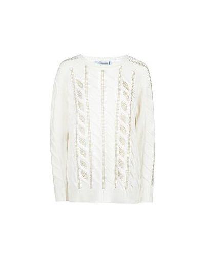 Белый свитер Blumarine