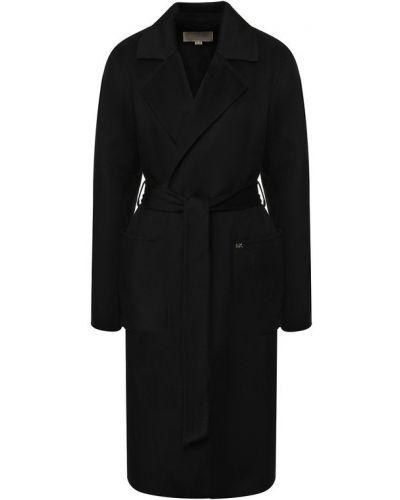 Пальто с поясом шерстяное Michael Michael Kors