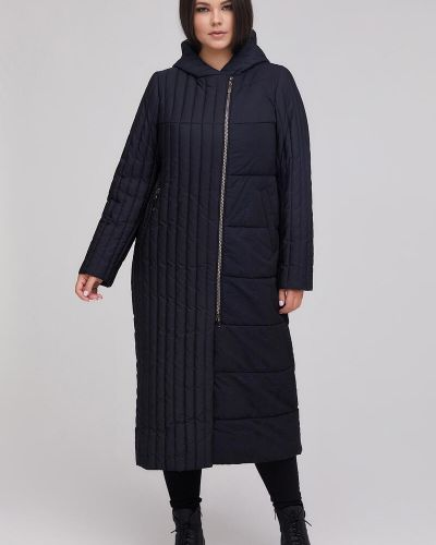 Стеганое пальто - синее Riches