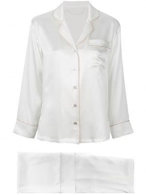 Белая пижама Fleur Of England