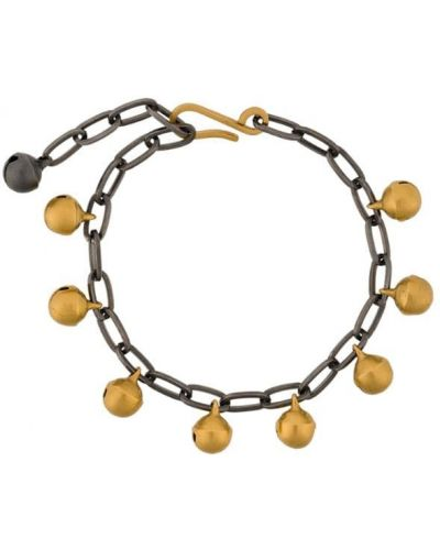 Золотой браслет цепочка желтый Eye M By Ileana Makri