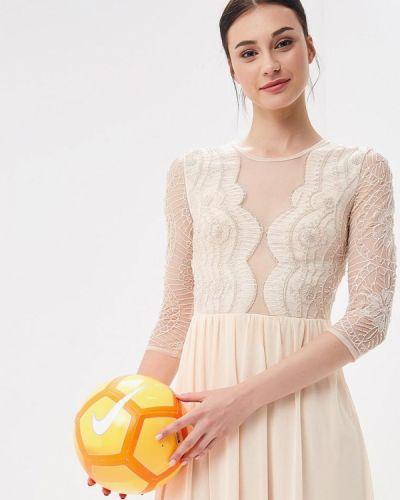 Бежевое вечернее платье Jan Steen