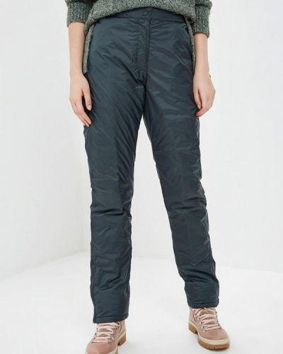 Серые брюки утепленные Sela