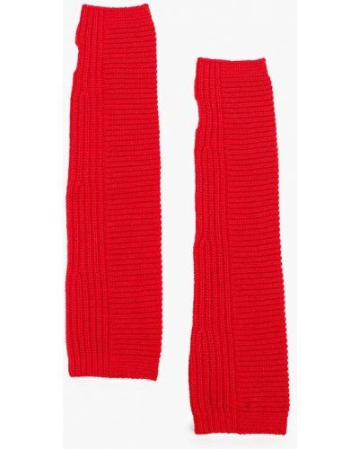 Митенки красный United Colors Of Benetton