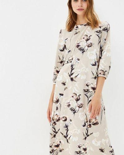 Платье бежевое Burlo