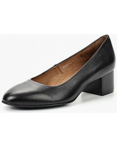 Кожаные туфли закрытые на каблуке Shoiberg