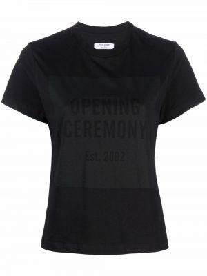 Лонгслив - черная Opening Ceremony