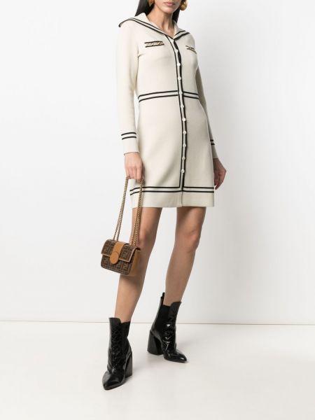 Sukienka długa z długimi rękawami - czarna Gucci