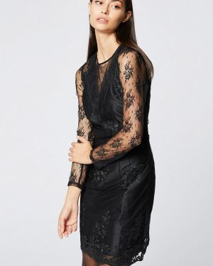 Платье осеннее прямое Morgan