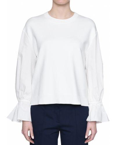 Блузка из вискозы белая Rene Lezard