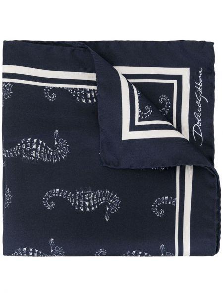Синий платок Dolce & Gabbana