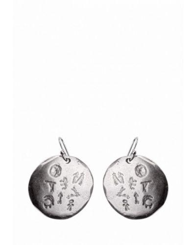 Серьги серебряного цвета Skifska Etnika