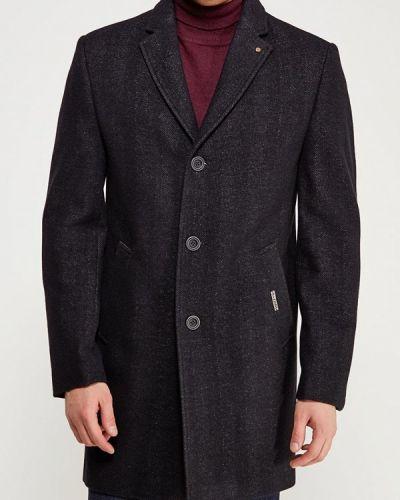 Черное пальто осеннее Bazioni