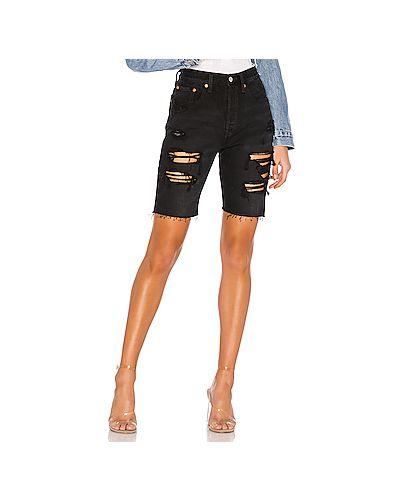 Джинсовые шорты рваные с карманами Levi's®