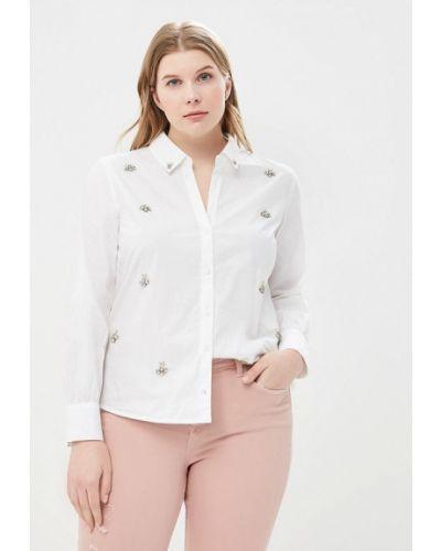 Белая рубашка Violeta By Mango