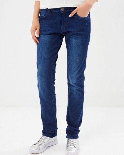 Синие джинсы-скинни S.oliver
