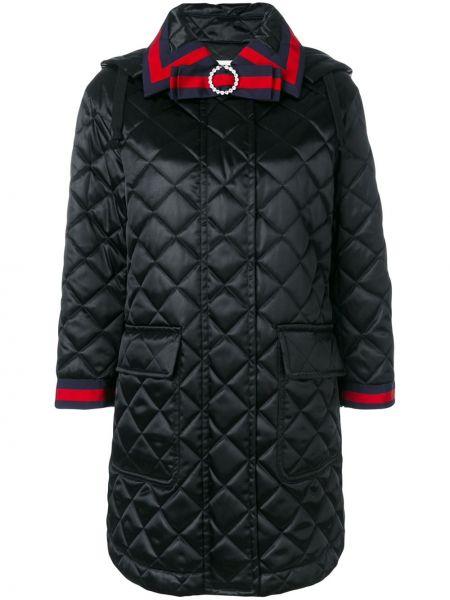 Długi płaszcz pikowana klasyczny Gucci