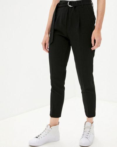 Повседневные черные брюки United Colors Of Benetton