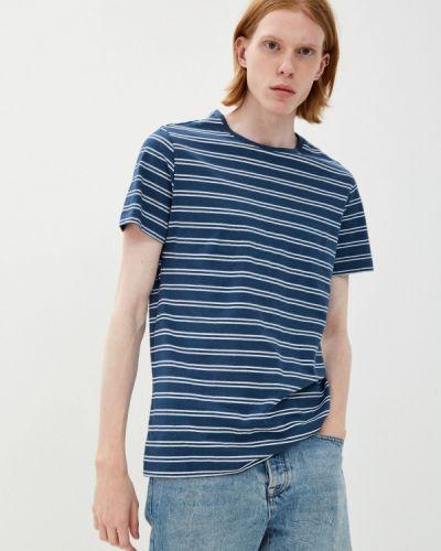Синяя футболка с короткими рукавами Brunotti