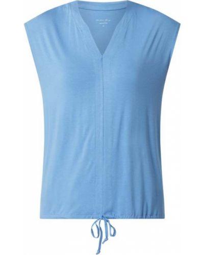 Niebieska koszulka z wiskozy Christian Berg Women