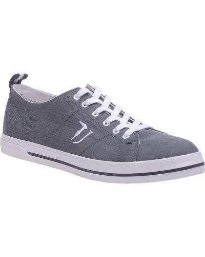 Серые кеды Trussardi Jeans