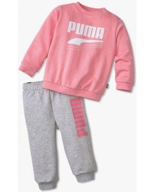 Спортивный костюм костюмный серый Puma