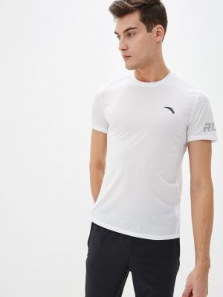 Белая спортивная спортивная футболка Anta