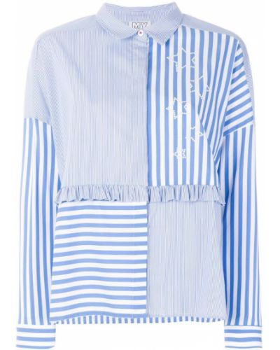 Блузка в полоску классическая Twin-set