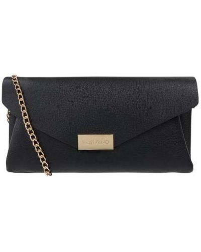 Złota kopertówka - czarna Valentino Bags