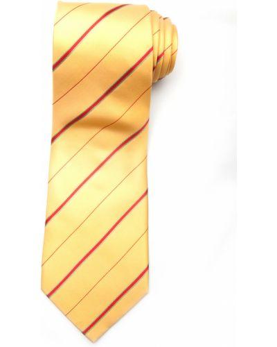 Галстук желтый итальянский Lancetti