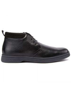Черные резиновые ботинки Baldinini