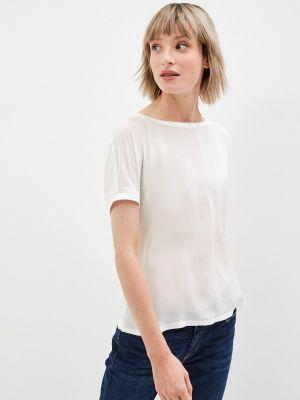 Блузка с короткими рукавами - белая Max&co