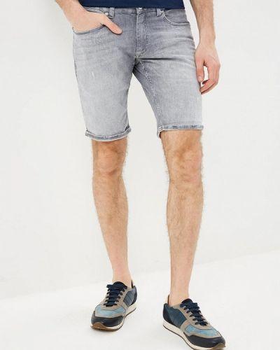 Серые джинсовые шорты Lindbergh