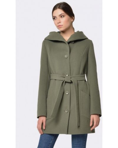 Зеленое пальто Cat Orange