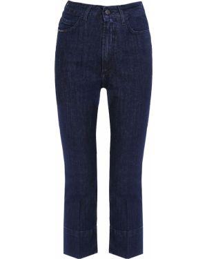 Пляжные джинсы с высокой посадкой на пуговицах с поясом в стиле бохо Gender Denim