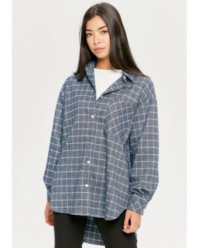 Блузка с длинными рукавами - синяя Cardo