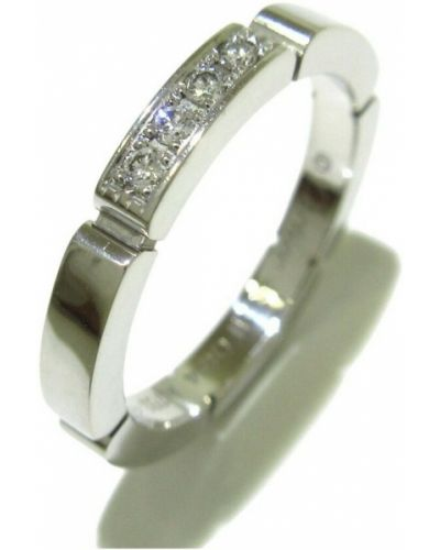 Biały złoty pierścionek Cartier Vintage