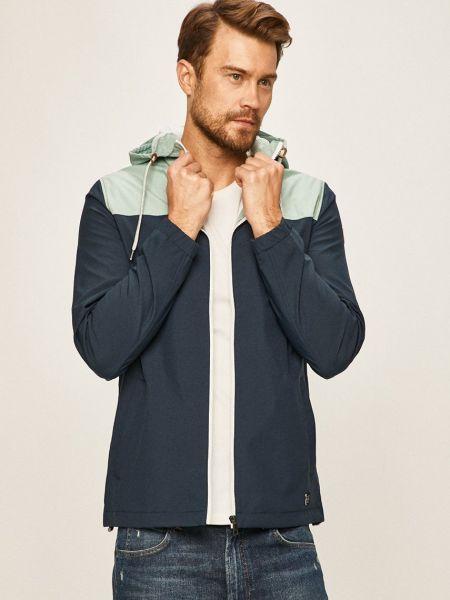С рукавами синяя куртка с капюшоном Only & Sons