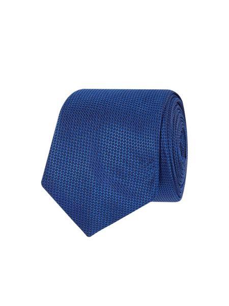 Krawat wąskie cięcie, niebieski Boss