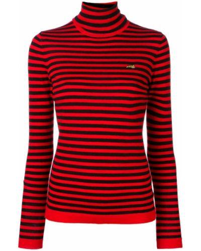 Водолазка с вышивкой красная Bella Freud
