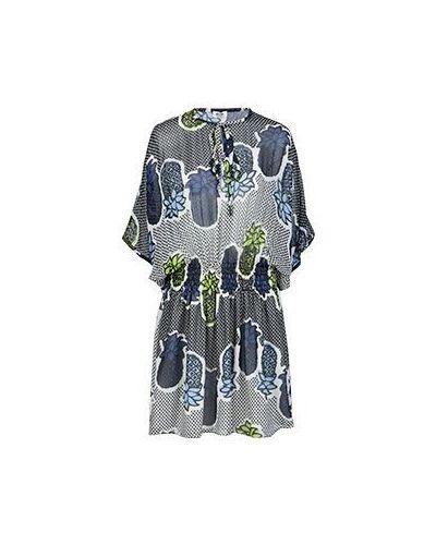 Повседневное платье - синее Moschino Cheapandchic