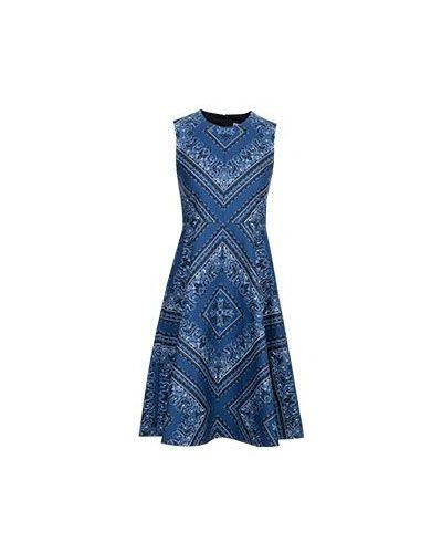 Синее платье миди Valentino Red