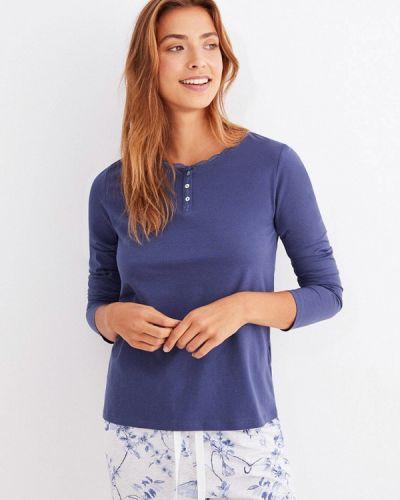 Синяя домашняя футболка Women'secret