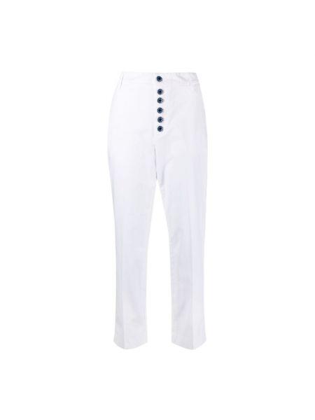 Białe mom jeans Dondup