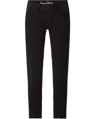 Czarne jeansy bawełniane Buena Vista