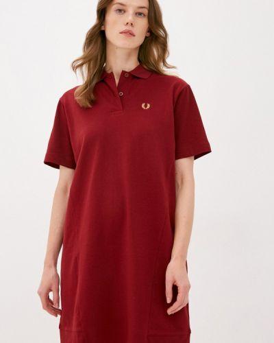 Красное платье Fred Perry