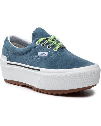 Tenisówki - niebieskie Vans