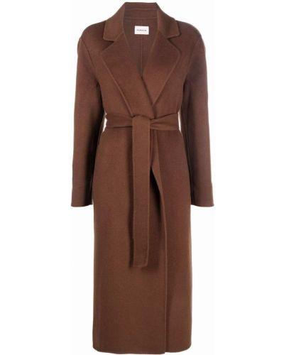 Шерстяное пальто - коричневое P.a.r.o.s.h.