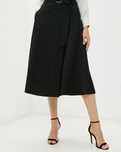 Черная юбка свободного кроя Lime